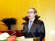 Opiniones de electores se presentan ante el Parlamento vietnamita