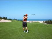 Campeonato de golf aficionado en Vietnam atrae a 120 jugadores