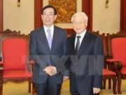 Líder partidista de Vietnam resalta lazos con Sudcorea