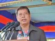Dirigente del Frente de Solidaridad para el Desarrollo de Camboya visita Vietnam