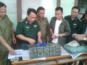 Policías de Vietnam y Laos refuerzan cooperación entra delincuencia transfronteriza