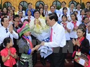 Presidente vietnamita pide aumentar la atención y protección de los niños