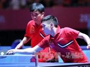 Vietnam participa en campeonato mundial de tenis de mesa