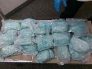 China y Filipinas incautan 604 kilos de metanfetamina