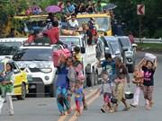 Indonesia busca repatriar a ciudadanos atrapados en Filipinas