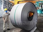 Vietnam exporta 12 mil toneladas de láminas de hierro a Europa