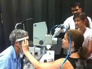 Avión- hospital Orbis ofrece entrenamiento oftalmológico en Binh Dinh