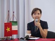 Celebran encuentro amistoso en Hanoi por Fiesta de la República Italiana