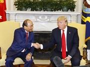 Premier Xuan Phuc: Vietnam atesora Asociación Integral con EE.UU.