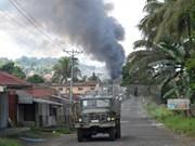 Presidente filipino afirma que no negociará con grupo insurgente