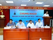 Vietnam otorga Premio Nacional de Periodismo para 95 obras destacadas