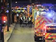 Ningunas víctimas vietnamitas en ataques en Londres