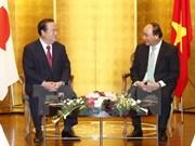 Premier Xuan Phuc llama a fortalecer cooperación interlocal Vietnam- Japón