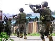 Estados Unidos provee armas a Filipinas para lucha antiterrorista