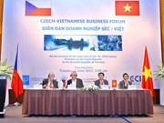 Vietnam y República Checa fortalecen nexos comerciales