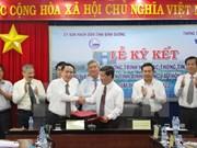 Impulsan cooperación entre VNA y provincia de Binh Duong
