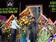 Conmemoran aniversario 78 de fundación de secta budista de Hoa Hao