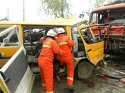 Dos vietnamitas murieron en accidente de tránsito en Tailandia