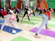 Día Internacional del Yoga se celebra en nueve localidades vietnamitas