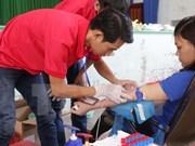 Presidente vietnamita destaca importancia de donación de sangre