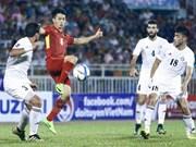 Vietnam empata con Jordania en eliminatoria de Copa Asiática 2019