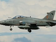 Fuerza Aérea de Malasia perdió contacto con un avión de entrenamiento