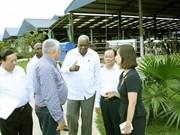 Delegación parlamentaria cubana visita provincia norvietnamita