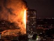 No se reportan víctimas vietnamitas en devastador incendio en Londres