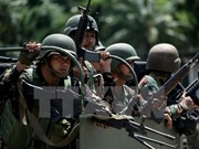 Filipinas refuerza operación militar antiterrorista en Marawi