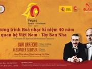 Concierto de música clásica saluda el 40 aniversario de nexos Vietnam- España