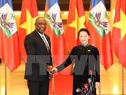 Haití y Vietnam por robustecer lazos en telecomunicaciones y agricultura