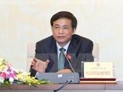 Parlamento vietnamita cumple intensa agenda de tercer período de sesiones