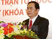 Tran Thanh Man designado presidente del Frente de la Patria de Vietnam
