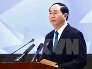 Presidente Dai Quang: Año del APEC 2017 debe promover potencialidades de Vietnam