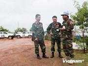 Hospital ambulante de Vietnam dispuesto para las misiones de la ONU