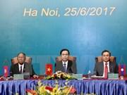 Frentes de Patria de Vietnam, Laos y Camboya impulsan cooperación