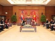 Presidente de Parlamento camboyano concluye visita a Vietnam