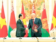 Declaración conjunta Vietnam- Belarús: otra muestra de voluntad de ampliar la asociación bilateral