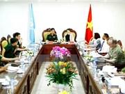Delegación de ONU evalúa hospital de campaña de Vietnam
