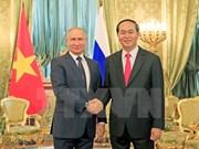 Vietnam y Rusia ratifican en declaración conjunta voluntad de profundizar nexos