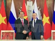 Visita oficial de presidente vietnamita: reflejo de desarrollo de relaciones en máximo nivel con Rusia