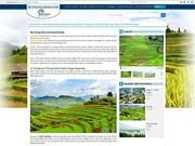 Sitio web de promoción turística de Vietnam con nueva interfaz más amigable