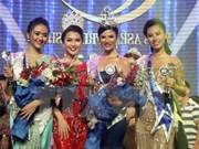 Belleza tailandesa se corona como Miss Amistad de ASEAN