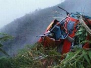 Accidente de helicóptero de rescate en Indonesia deja ocho muertos