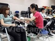 Promueven en provincia survietnamita la donación de sangre