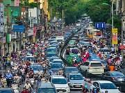 Ha Noi aprueba plan para aliviar congestión del tránsito urbano