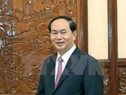 Presidente de Vietnam exhorta a mayor coordinación con Interpol en lucha contra la delincuencia
