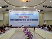 Provincia survietnamita e inversores taiwaneses intercambian información
