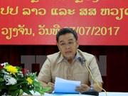 Alto funcionario de Lao saluda contribuciones de comunidad vietnamita