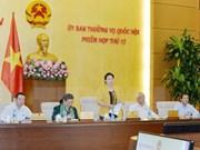 Comité Permanente del Parlamento vietnamita concluye su duodécima reunión
